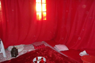 Tente Rouge